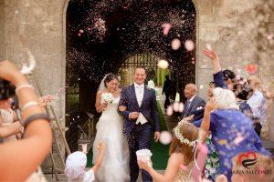 Matrimonio a Castello Monaci , acconciatura sposa a cura di Maria Falcone Hair Stylist